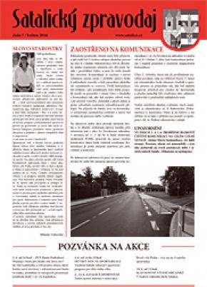 Satalický zpravodaj č. 7/2016