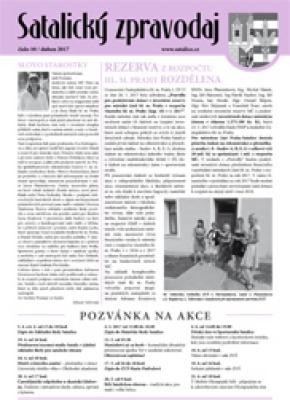 Satalický zpravodaj č. 10/2017