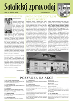 Satalický zpravodaj č. 14/2018