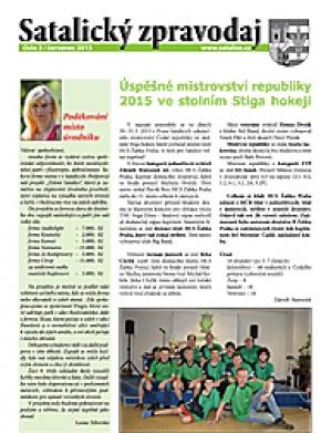 Satalický zpravodaj č.3/2015