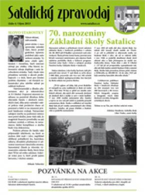 Satalický zpravodaj č. 4/2015