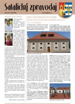Satalický zpravodaj č. 16/2018
