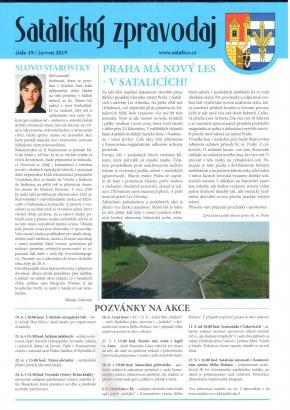 Satalický zpravodaj č. 19/2019