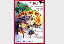 Čarodějnice v Satalicích, 30. dubna od 17h na skautském hřišti u MŠ