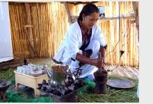 Etiopský kávový rituál