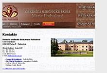 Základní umělecká škola Marie Podvalové