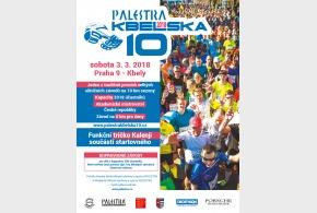 Palestra Kbelská 10 se uskuteční v sobotu 3. března 2018