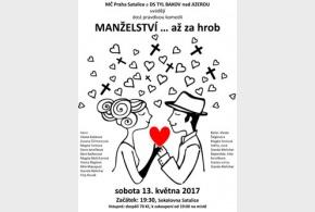 Divadelní představení v sobotu 13.5.2017 od 19.30 hod.