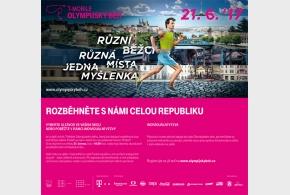 Olympijský běh letos poprvé u nás v Satalicích!