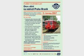 Pozvánka na den dětí v Braníku - historické vlaky, tramvaje i autobusy