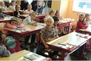 ZŠ Satalice - 1. školní den
