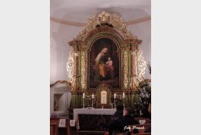 Půlnoční mše v kapli sv. Anny v Satalicích