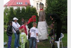 Hravé odpoledne s klaunem - čtvrtek 13. září 2012 od 16:00 na dětském hřišti u domu seniorů
