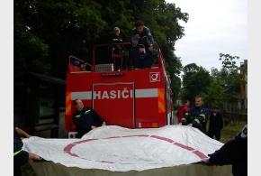 Dětský den - pořádaný hasiči ve spolupráci s MČ