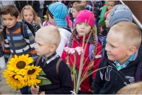 Základní škola přivítala šedesát prvňáčků.