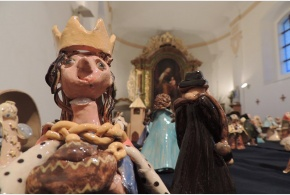 Satalické betlémy v kapli sv. Anny 25.-27. 12. 2013