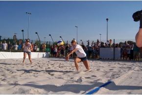 Slavnostní otevření beachvolejbalových kurtů