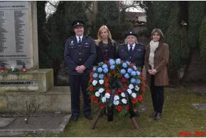 25.3.2015 - Uctění památky obětí náletu na květnou neděli 25.3.1945.