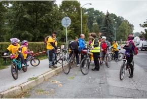 Foto z Pražského cyklozvonění 17.9.2017