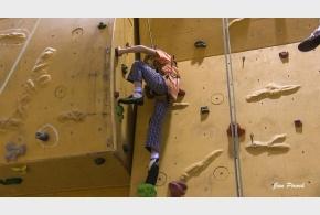 Lezecký den v tělocvičně ZŠ - Climbing Opening 29. 11. 2014