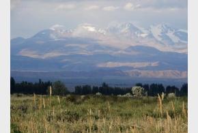 S mankalou po Kyrgyzstánu