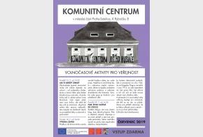 Program Komunitního centra červenec 2019