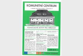 Program Komunitního centra září 2019