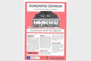 Program Komunitního centra říjen 2019