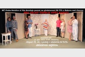 """Divadelní přestavení """"Prázdniny snů"""" - 12. 10. STÁTNÍ SMUTEK - DIVADELNÍ PŘEDSTAVENÍ SE PŘESOUVÁ"""