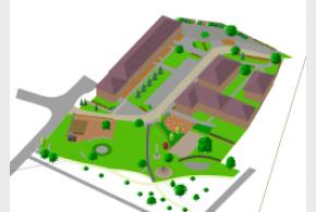 Ideová studie Statek - Rekonstrukce prostoru po demolici budovy A a komplexní řešení zeleně na parc. č. 115/2 a částečně 115/3 v Praze - Satalice