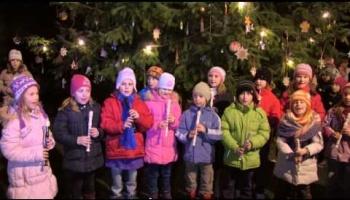 Embedded thumbnail for Rozsvícení vánočního stromu